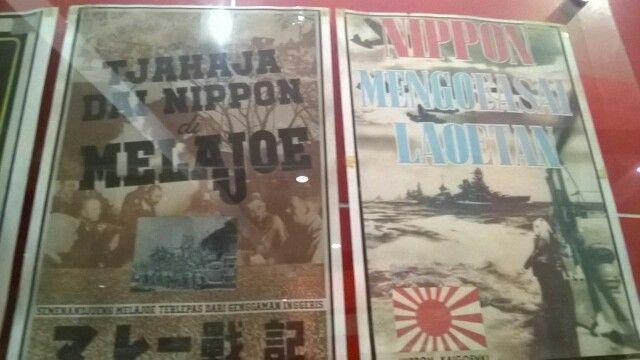 Poster propaganda jaman Jepang