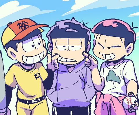 おそ松さん Osomatsu-san 弟松「おそ松さんまとめ2」/「さんじろ♨」の漫画 [pixiv]