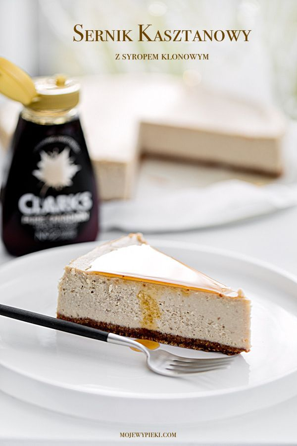 Chestnut and Maple Cheesecake