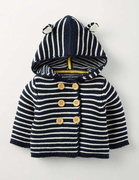 Boys Knitted Jacket 71525 Knitwear at Boden