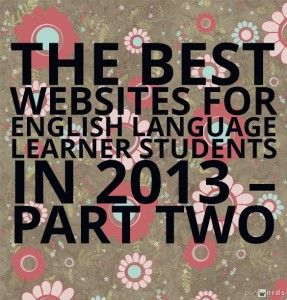 The best websites for ELL students