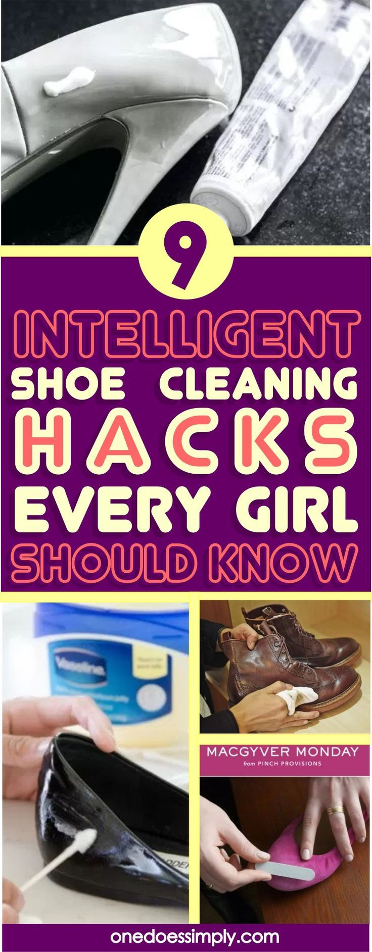 9 Highly effective Hacks To Get Your Sneakers Tremendous Clear