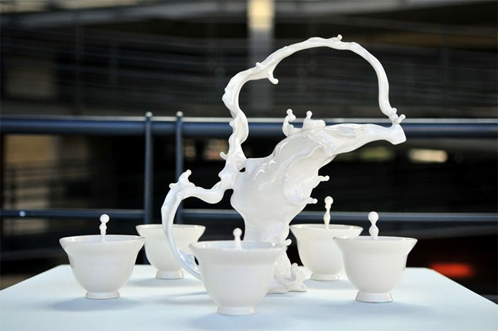 Living Clay: Artist Johnson Tsang Brings Ceramic Bowls and Cups to Life
