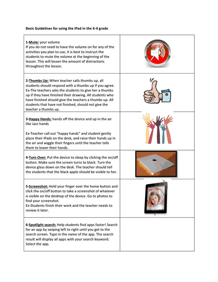 Modern Classroom Assessment Pdf ~ Basic guidelines for ipad lessons pdf tcea
