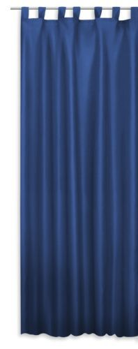 Schlaufenschal-Alex-halbtransparent-Vorhang-seidig-glaenzend-Ubergardine-Schlaufe