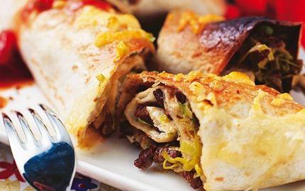 Enchiladas med biff