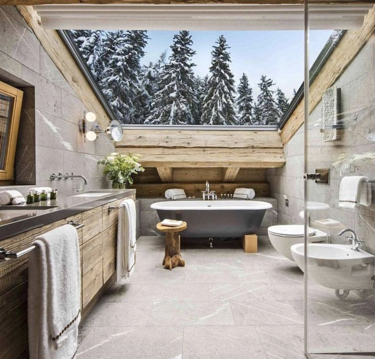 294 best Badezimmer images on Pinterest Bathrooms, Attic spaces - badezimmer mit schräge