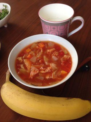 脂肪燃焼スープダイエット 4、5、6、7日目 : CHELSEAと飯にかまけて d0179335_11422048.jpg