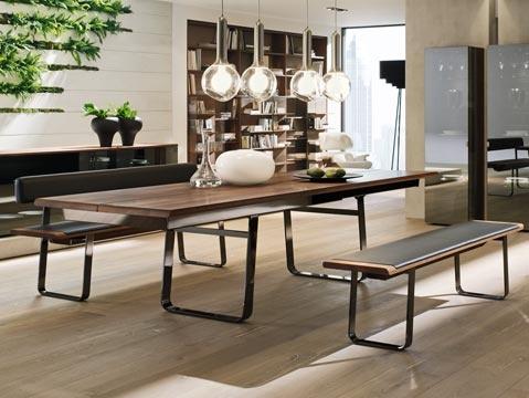 Team7's luxury, sustainable, design-award winning dining tables