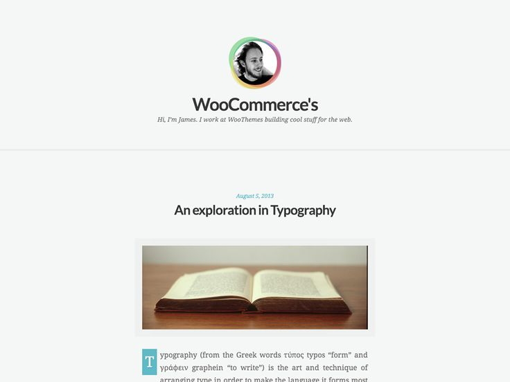 WordPress › Clear Tranquil « Free WordPress Themes