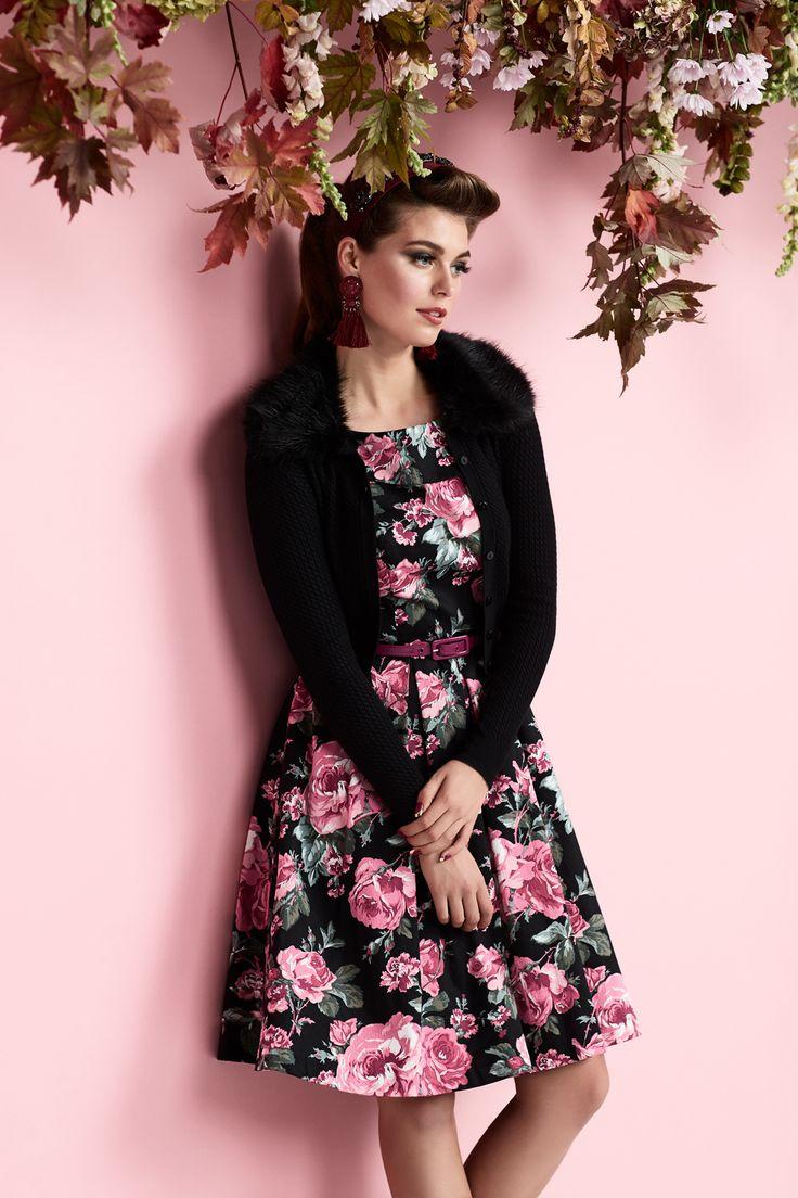 Rose Quartz Dress (Coming Soon) | Bardot Cardi | Edith Headband (Coming Soon)