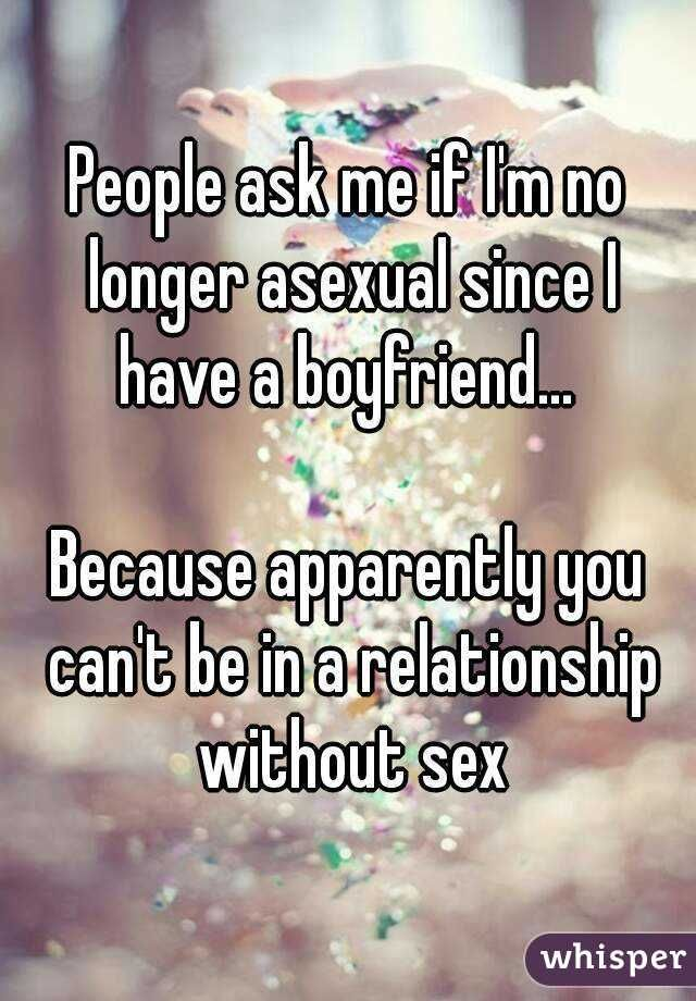 Asexual dating