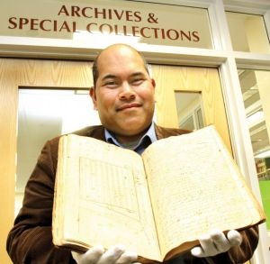 """Archivists care for property records. """"Keene State to make historic property records more accessible"""""""