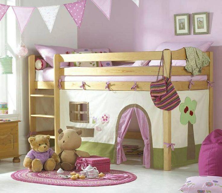 Little girls bed, so cute!