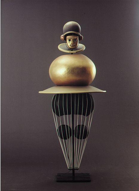 Oskar Schlemmer, Triadisches Ballett (Triadic Ballet), 1922. Costume   Flickr - Photo Sharing!
