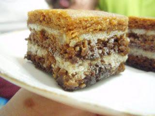 Rețetă Prajitura cu crema de nuca si rom de Rapsodia Gusturilor