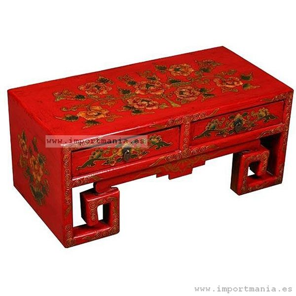 mesa centro tibetana muebles chinos muebles orientales