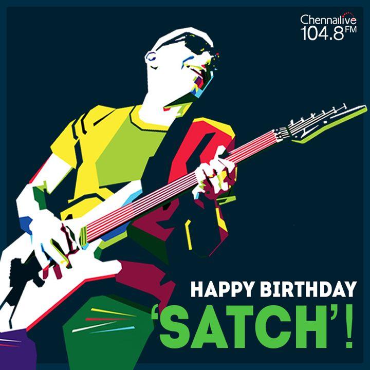 Chennai Live - 104.8 FM wishes Joe Satriani, one of the world's greatest guitarists, a very Happy Birthday! #JoeSatriani #music #guitarist