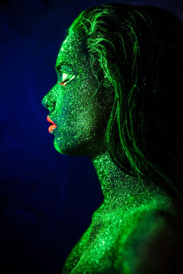 Atlantean woman by Harri Rauhanummi. Make-up: Stella Sironen. Model: Emilia Taavitsainen.