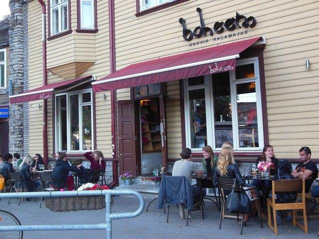 Boheem Tallinn: a hipster pizza joint in Kalamaja