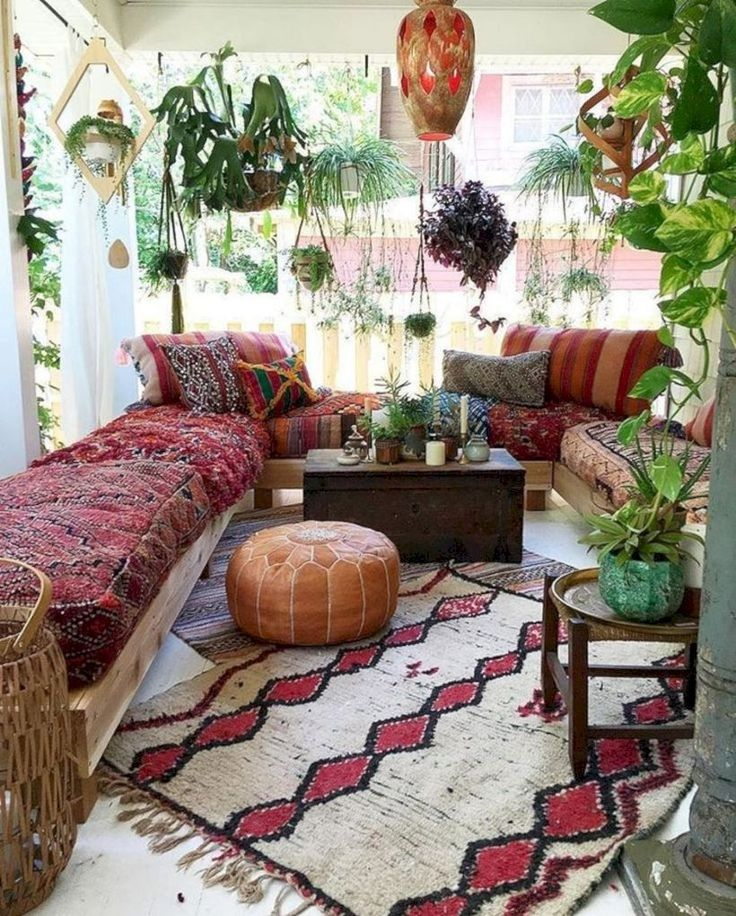 15 Best Living Room Bohemian Design for Small Spaces