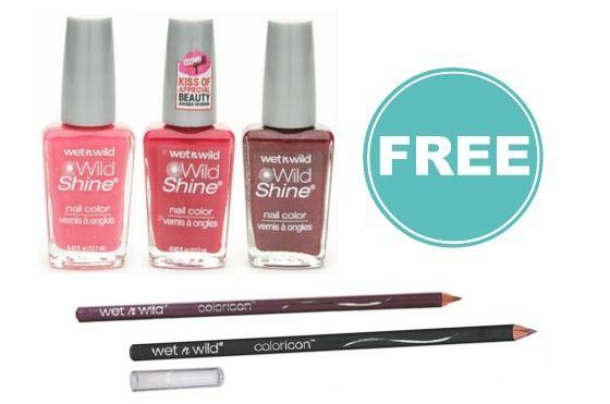 Wet N Wild Coupon | FREE Nail Polish and Eye Liner at Walmart!