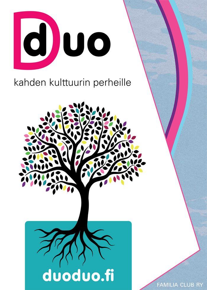 Poster design for Duo, www.duoduo.fi
