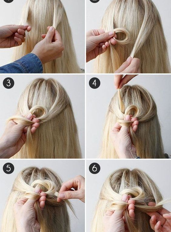 Hair How To Keltischer Knoten Half Updo Diy Frisuren 2019 In 2019