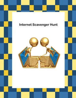 Webquest or Internet Scavenger Hunt Grades 4-8 from Mrs. Mc's Shop on TeachersNotebook.com -  (12 pages)  - The goal of this webquest lesson is to build your students' research skills and their ability to find reliable resources when asked to research a topic