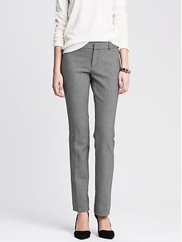 Sloan-Fit Charcoal Straight Leg- not sure if you have any other BR pants, but could be good to try these out. Other clients of mine love them. The char. grey would be great for your core pieces/pants.