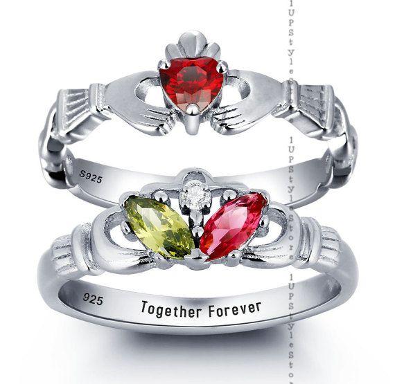 Claddagh Ring Irish Promise Ring Irish Claddagh by 1UPStyleStore