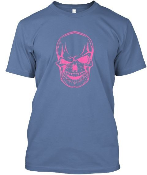 Pink winking skull tee teespring.com/stores/onpoint-tees-3