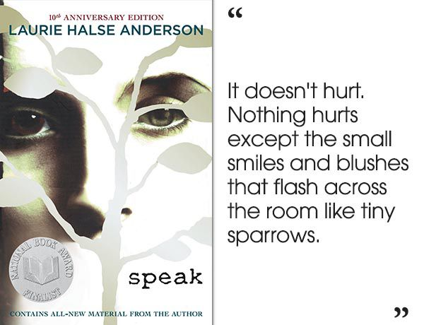 Speak by Laurie Halse Anderson | 46 Brilliant Short Novels You Can Read In A Day