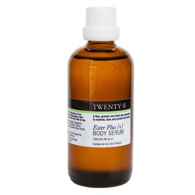 Ester Plus (+) Body Serum - Designed for the HCG Protocol this beautiful combination of jojoba fluid wax, rich in esters to protect the moisture component in the skin, blended with specifically chosen essential oils to nourish, tone and balance the skin's sebum without absorbing fat into the bloodstream. This is the perfect serum for your daily body boost ritual to help stimulate weight-loss and bring awareness to your new, healthy and dynamic body.