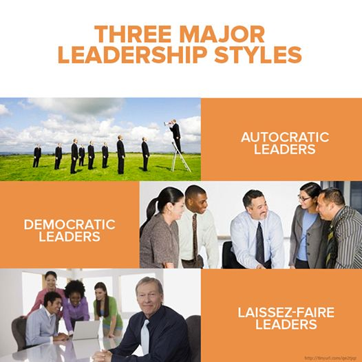 transformational transactional and autocratic leadership styles Style #1 autocratic leadership: the commander the first leadership style is one of the most well-known in the world — autocratic autocratic leaders are defined by their my-way-or-the-highway mentality, which is extremely effective for accomplishing goals quickly.