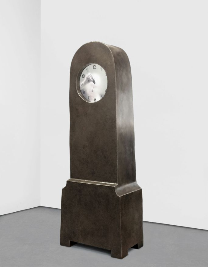 Maarten Baas - grandmother clock, 2013