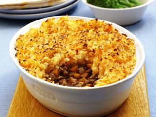 Jamie Oliver's Cottage Pie with Carrot and Potato Mash - made it last night and it was fantastic!