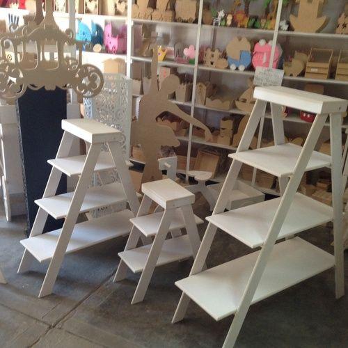 Juego de escaleras mdf madera de fibrofacil pinterest for Formas de escaleras