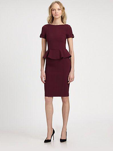 Burberry London - Jersey Peplum Dress