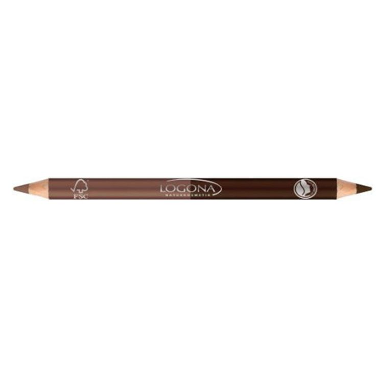 Logona Double Eyeliners are gluten-free, certified natural pencils that emphasize and help model your eyes. Made with protective waxes and jojoba, Logona Eyeliner has a mild, skin-friendly formula tha