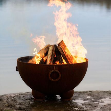 Medieval Cauldron Fire Pit Bing Images Love The Handles