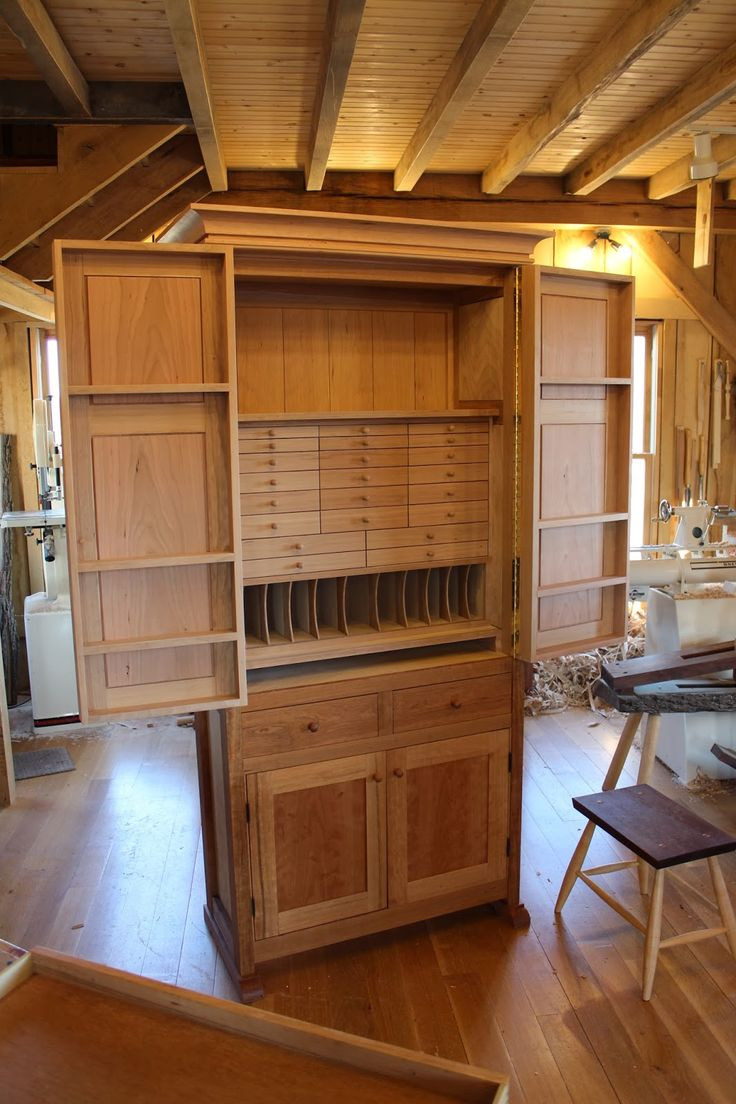 Tool Cabinet - Greg Pennington Fly Tying Storage????
