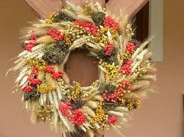 Картинки по запросу венки на дверь своими руками из пшеницы