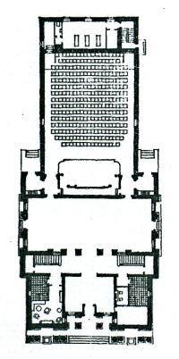 Брод. Кинотеатр в Жуковском. 1950.: worowski