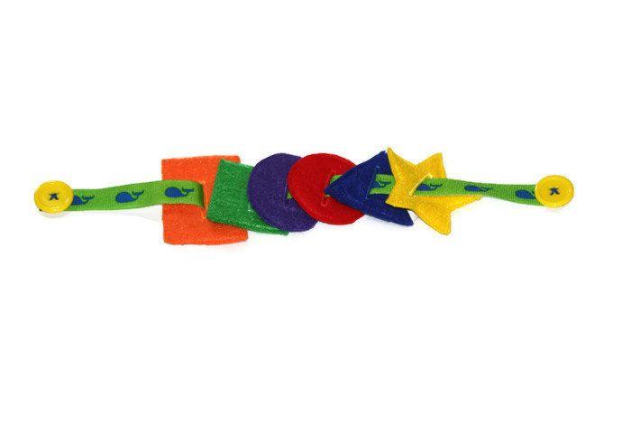 Rainbow Shapes Button Snake, Busy Bag Colour Teaching, Quiet Time Shapes Activity, Handmade Felt Rainbow Toy by myraecreations on Etsy