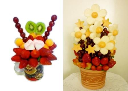 Creación de ramos frutales desde Bs. 210 en Pasión Frutas