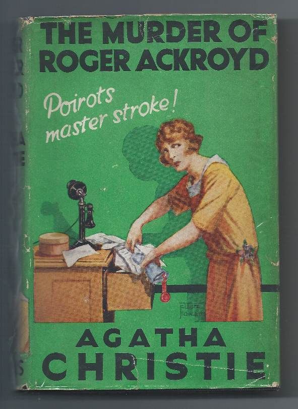 unreliable narrator in agatha christie s murder of roger ackroyd Title: the murder of roger ackroyd author: agatha christie  it's kind of  uncommon when we have an unreliable narrator, and hard to write it so.