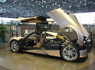 Cars: Best images of New Model Pagani Huayra Cars.