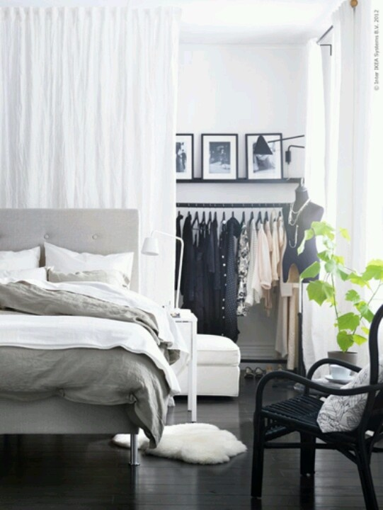 Bedroom + wardrobe