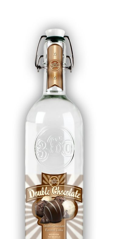 360 Vodka -- Double Chocolate... my fav!